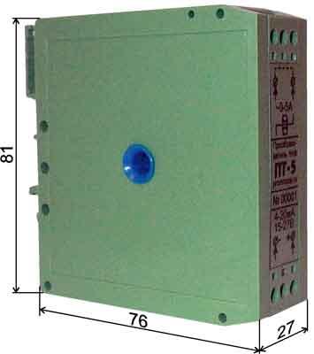 Двухканальный датчик уровня сыпучих продуктов.