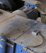 Датчик обрыва цепи скребкового конвейера.